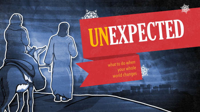 UnExcpected Christmas Sermon Series