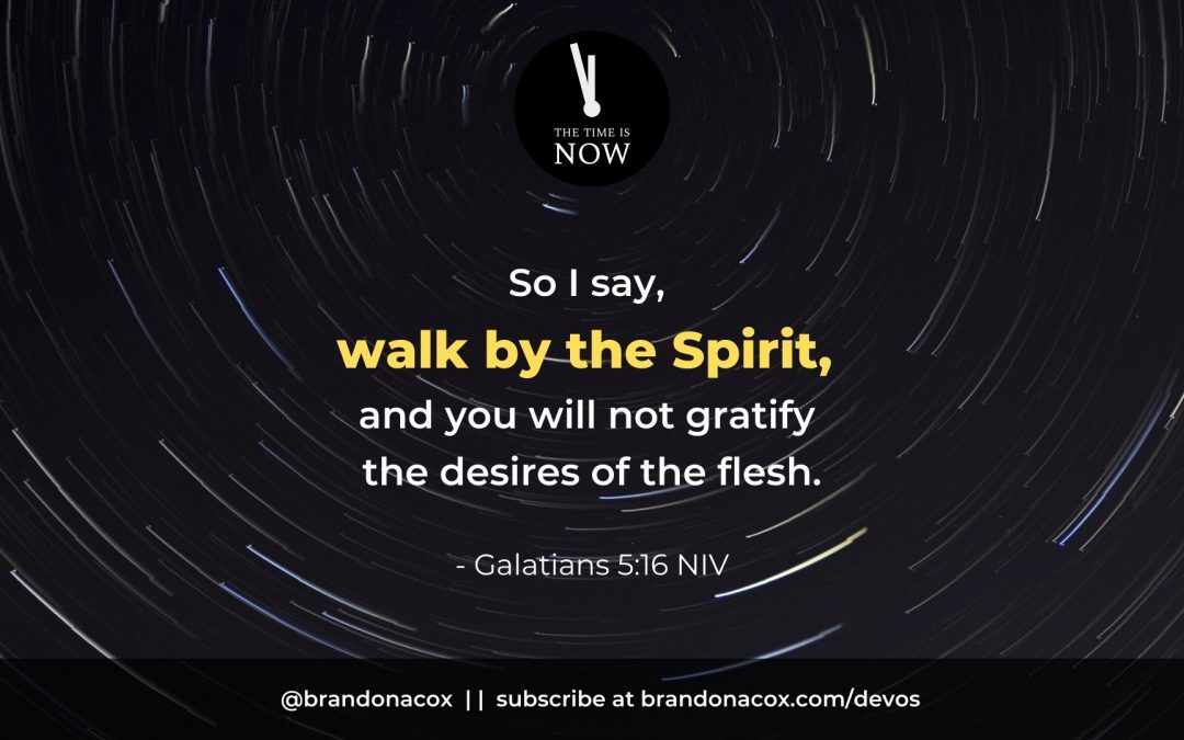 Walking In Step With the Holy Spirit