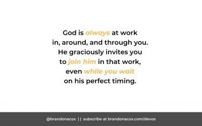 Work While You Wait