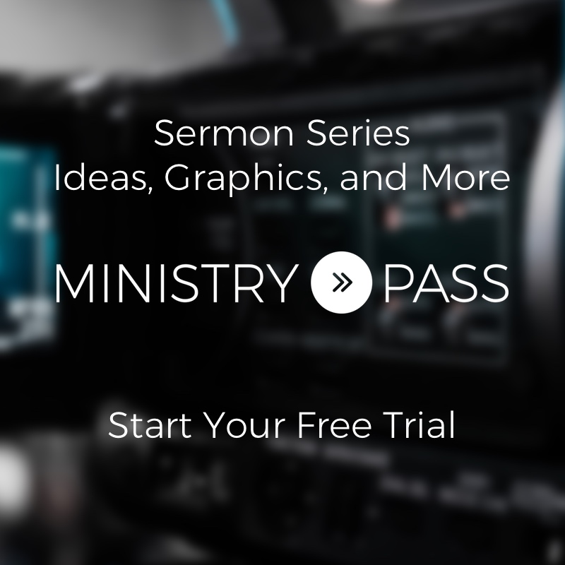 Ministry Pass - Free Sermon Graphics